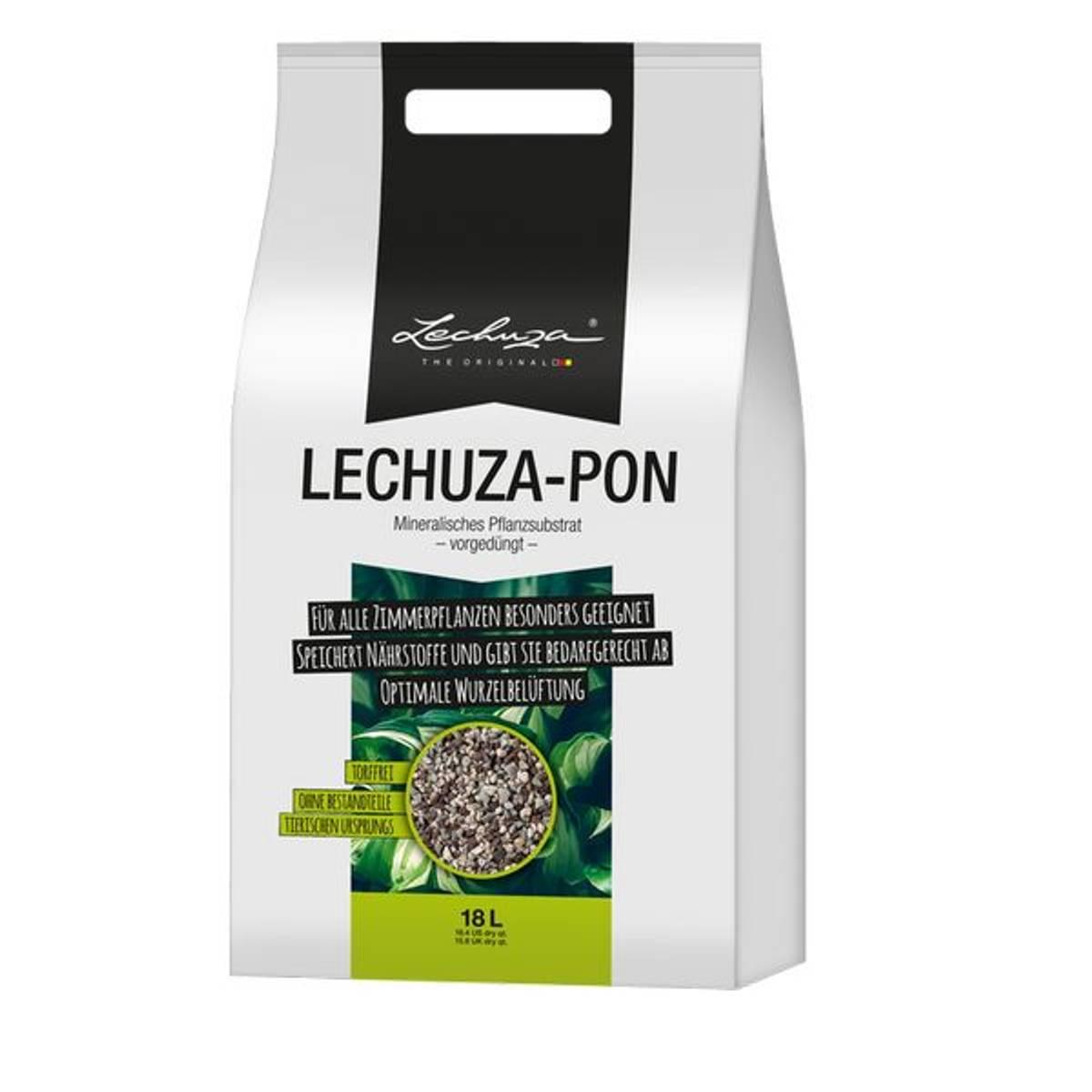 LechuzaPon 18 liter, Vekstmedium